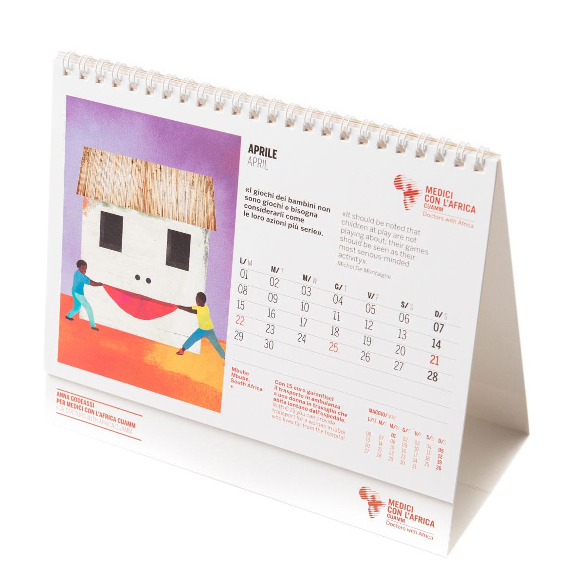 Calendario D.Special Edition Anna Godeassi