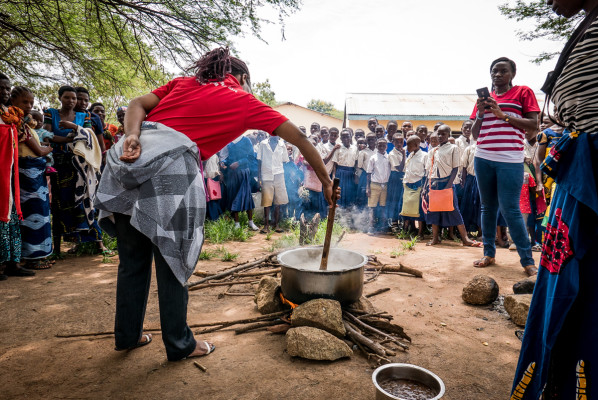 Itilima cooking demstation 3